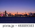 都市風景 横浜 みなとみらいの写真 46889383