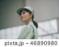 女性 工場 人物の写真 46890980