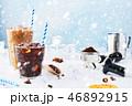コーヒー 氷 ウインターの写真 46892915