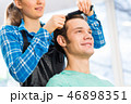 クライアント 髪 毛の写真 46898351