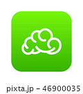 Mobile cloud icon green vector 46900035