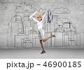 建築士 建築家 図面の写真 46900185