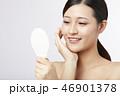 女性 アジア人 ファンデーションの写真 46901378