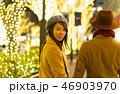 東京クリスマス イメージ・カップル・表参道 クリスマスイルミネーション 46903970