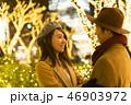 東京クリスマス イメージ・カップルデート・表参道 クリスマスイルミネーション 向き合う 46903972