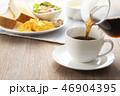 コーヒー 淹れる ホットコーヒーの写真 46904395