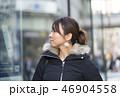 東京・渋谷・女性・冬 46904558