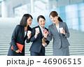 スマホ スマートフォン ビジネスウーマンの写真 46906515