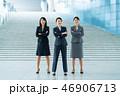 ビジネスウーマン ビジネス 人物の写真 46906713