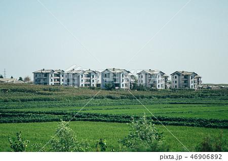 北朝鮮 平壌郊外の風景 46906892