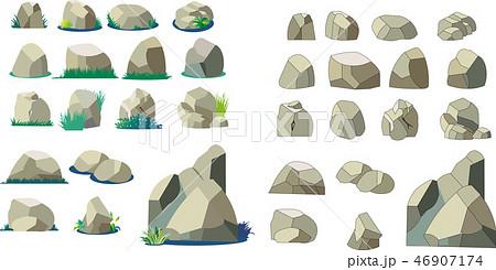 岩石イラスト, 岩, 石, 背景パーツ, 背景イラスト, 背景素材イラスト, ゲーム素材, WEBバナー素材, 自然素材, 白バック, イラスト, コピースペース, 岩石コレクション, イラストカット集, 背景, 自然, 風景, グラフィック, テクスチャ, 素材, 植物, 山, CG