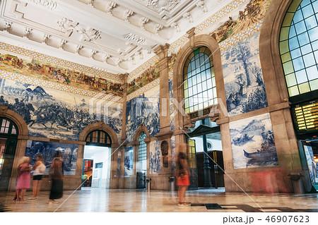 Sao Bento Railway Station in Porto, Portugal 46907623