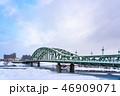 冬の旭橋 46909071