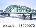 冬の旭橋 46909072