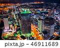 横浜 夜景 夜の写真 46911689
