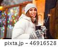 女の子 ウィンター 冬の写真 46916528