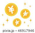 お金 コイン 通貨のイラスト 46917946
