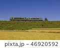秋の小海線 山梨県の小淵沢大カーブ 46920592