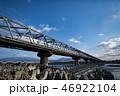 富士川橋梁を走る東海道新幹線 46922104
