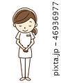 看護師 人物 女性のイラスト 46936977