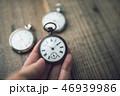 懐中時計 時計 時間の写真 46939986