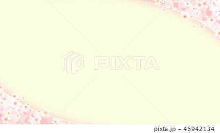 和-和風-和柄-背景-和紙-春-桜-ピンク-グリーン 46942134