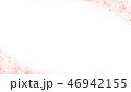 桜 背景 和柄のイラスト 46942155