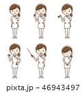 看護師 女性 ナースのイラスト 46943497