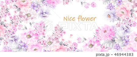 花 フラワー お花 46944383