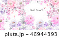 花 フラワー お花のイラスト 46944393