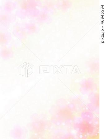 ピンク花柄背景縦 46946594