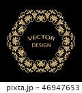 柄 模様 円形のイラスト 46947653