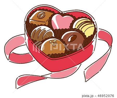 バレンタインデー チョコレート 46952076