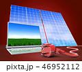 ソーラー 太陽 パネルのイラスト 46952112