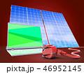 立体 3D 3Dのイラスト 46952145