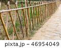 バンブー フェンス 垣根の写真 46954049