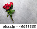 Red rose flowers bouquet 46956665