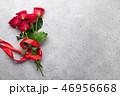 Red rose flowers bouquet 46956668