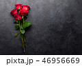 Red rose flowers bouquet 46956669