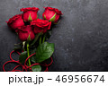 Valentine's day greeting card with roses 46956674
