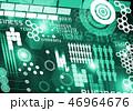 ビジネス 商売 データのイラスト 46964676