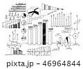 スケッチ 図案 ビジネスのイラスト 46964844