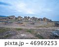 Hierapolis ruins ancient city in Pamukkale, Turkey 46969253