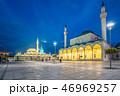 View of Konya city at night in Turkey 46969257
