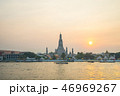 Bangkok Wat Arun temple in Bangkok, Thailand 46969267