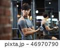 フィットネス トレーニング ジムの写真 46970790