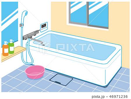 綺麗なバスルーム 46971236