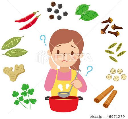 スパイス料理の疑問 46971279