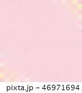 ピンク 背景 和柄のイラスト 46971694