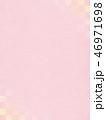 ピンク 背景 和柄のイラスト 46971698